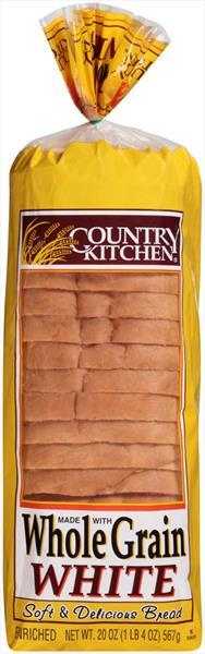 Country Kitchen Whole Grain White Bread