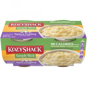 Kozy Shack No Sugar Added Tapioca Pudding