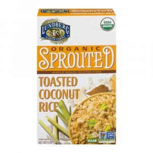 Lundberg Organic Whole Grain Toasted Coconut Rice