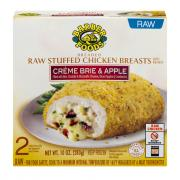 Barber Foods Raw Stuffed Chicken Breasts Creme Brie & Apple