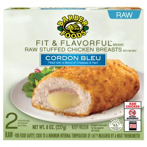 Barber Foods Raw Stuffed Chicken Breast Fit & Flavorful