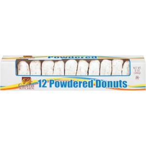 Country Kitchen Plain Powdered Mini Donuts