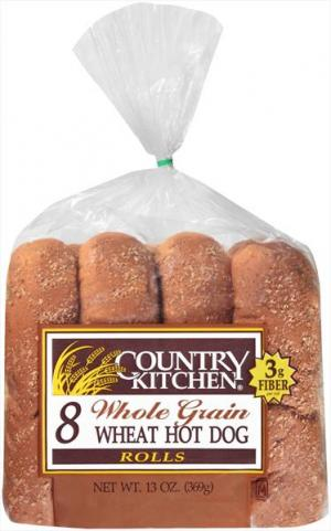 Country Kitchen Whole Grain Hot Dog Buns
