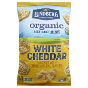 Lundberg Organic Mini Rice CakesWhite Cheddar