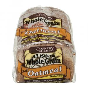 Country Kitchen All Natural Whole Grain Soft Oatmeal Bread