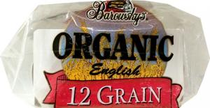 Barowsky's Organic Whole Grain Multi-grain English Muffins