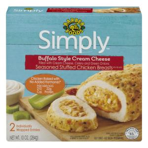 Barber Foods Simply Buffalo Cream Cheese