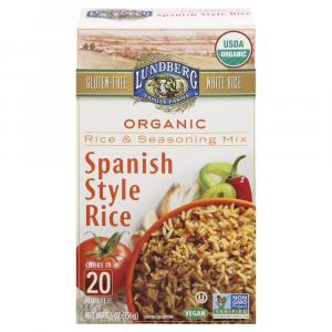 Lundberg Organic Spanish Style Rice Rice & Seasoning Mix