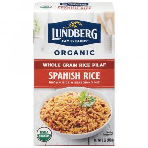 Lundberg Organic Spanish Rice Whole Grain Rice & Seasoning