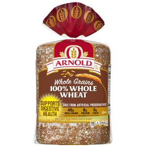 Arnold Whole Grain Classic 100% Whole Wheat Bread