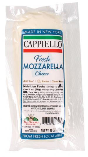 Cappiello Fresh Mozzarella Log