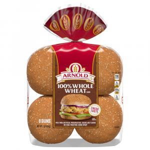Arnold 100% Whole Wheat Sandwich Rolls