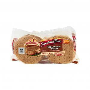 Arnold 100% Whole Wheat Sandwich Thins