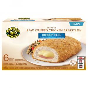 Barber Foods Chicken Cordon Bleu