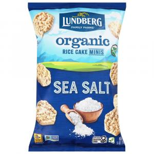 Lundberg Organic Mini Rice Cakes Sea Salt