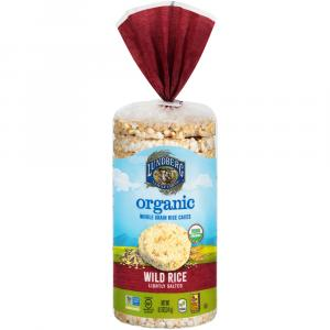 Lundberg Organic Wild Rice Whole Grain Rice Cakes