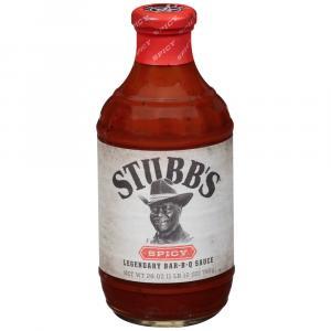 Stubb's Spicy BBQ Sauce