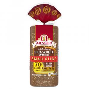 Arnold 100% Whole Wheat Small Slice Bread