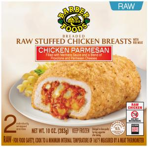 Barber Foods Chicken Parmesan Breasts