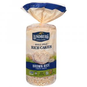 Lundberg Family Farms Organic Salted Brown Rice Cakes