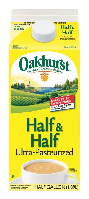 Oakhurst Half & Half Cream - UHT