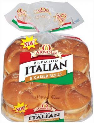 Arnold Premium Italian Kaiser Rolls