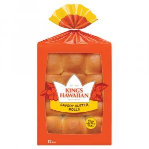 King's Hawaiian Original Hawaiian Savory Butter Rolls