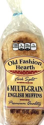 Old Fashion Hearth Multi-Grain English Muffin