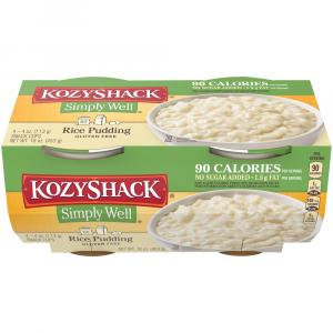 Kozy Shack No Sugar Added Rice Pudding