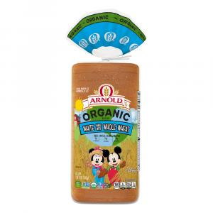 Arnold Organic White Bread Made With Whole Wheat