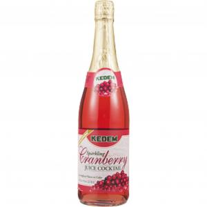 Kedem Sparkling Cranberry Juice Cocktail