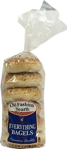 Old Fashion Hearth Everything Bagels
