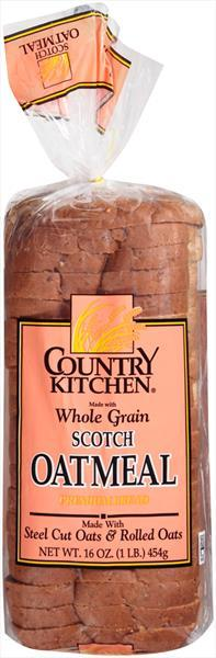 Country Kitchen Scotch Oatmeal Bread