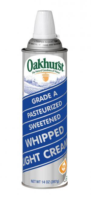 Oakhurst Whipped Cream Aerosol