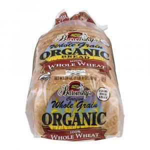 Barowsky's Organic 100% Whole Wheat Bread