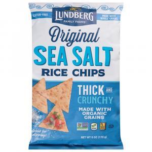 Lundberg Family Farms Sea Salt Rice Chips