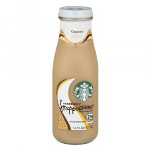 Starbuck's Frappuccino S'mores Chilled Coffee Drink
