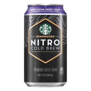 Starbucks Nitro Cold Brew Dark Cocoa Sweet Cream