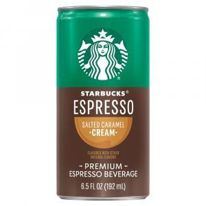 Starbucks Doubleshot Espresso & Salted Caramel Cream