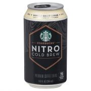 Starbucks Nitro Cold Brew Vanilla Sweet Cream