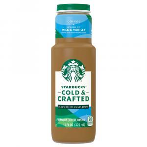 Starbucks Cold & Crafted Splash Of Milk & Vanilla