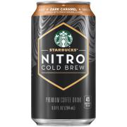 Starbucks Nitro Cold Brew Dark Caramel Unsweetened