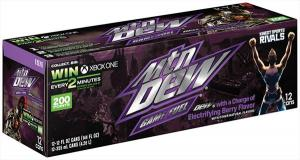 Mtn Dew Game Fuel Berry