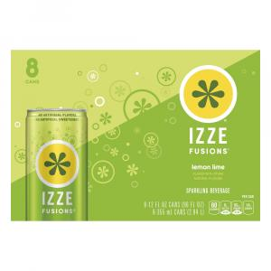 Izze Fusions Lemon Lime