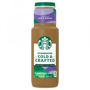 Starbucks Cold & Crafted Splash Of Milk & Mocha
