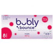 Bubly Bounce Triple Berry Sparkling Water