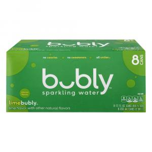 Bubly Lime Sparkling Water