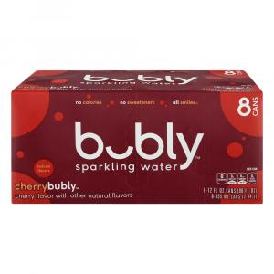 Bubly Cherry Sparkling Water
