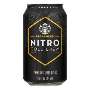 Starbucks Nitro Cold Brew Premium Coffee Drink