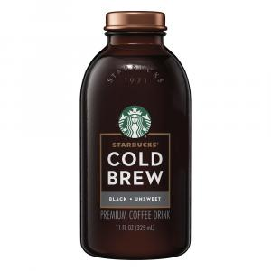 Starbucks Cold Brew Black Unsweetened